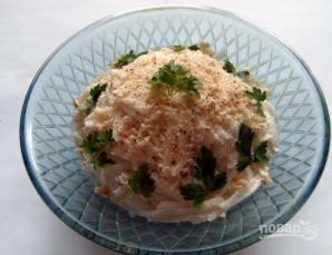 Салат из редьки с сыром - фото шаг 4