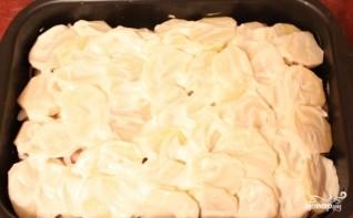 Куриное филе, запеченное с картофелем - фото шаг 5