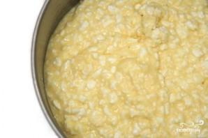 Запеченная паста с творогом, сыром и помидорами - фото шаг 1