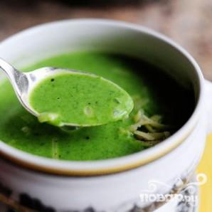 Суп из шпината с сыром - фото шаг 21