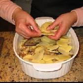 Запечённый картофель с грибами. - фото шаг 6