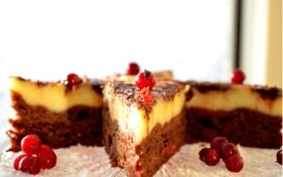 Брусничный торт с белым шоколадом - фото шаг 4