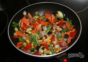 Гнезда, фаршированные овощами - фото шаг 1