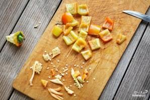 Овощной шашлык в кляре - фото шаг 3