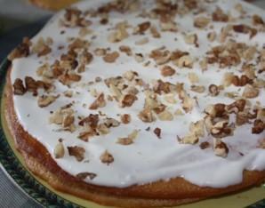 Медовый пирог с грецкими орехами - фото шаг 5