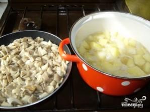 Картошка тушеная с грибами и сметаной - фото шаг 2