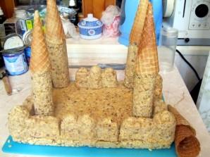 """Торт """"Замок"""" - фото шаг 7"""