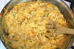 Курица с сыром и сметаной - фото шаг 6