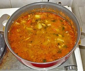 Суп из ставриды - фото шаг 11