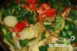Вегетарианские рулетики из листовой капусты - фото шаг 2