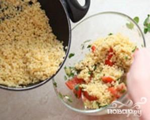 Салат из булгура - фото шаг 3