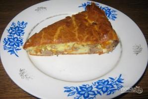 Пирог из куриной печени - фото шаг 5