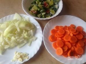 Свиной эскалоп с овощами в духовке - фото шаг 2