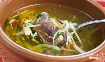 Суп с потрохами - фото шаг 9