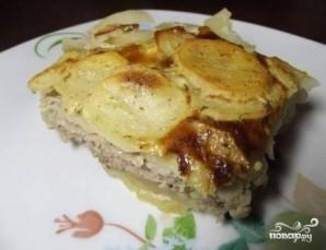 Фарш с картошкой в духовке - фото шаг 8
