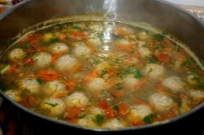 Фасолевый суп с фрикадельками - фото шаг 4