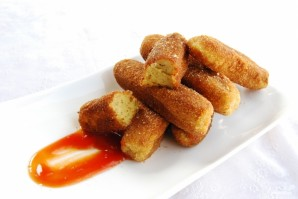 Картофельные пальчики - фото шаг 5