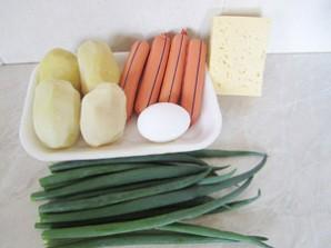 Запеканка из картофеля с сосиской - фото шаг 1
