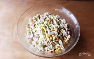 Салат из киви - фото шаг 3