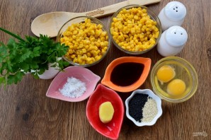 Быстрый куриный суп с кукурузой и имбирем - фото шаг 1