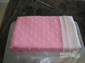 Детский торт из мастики (мастер-класс) - фото шаг 14