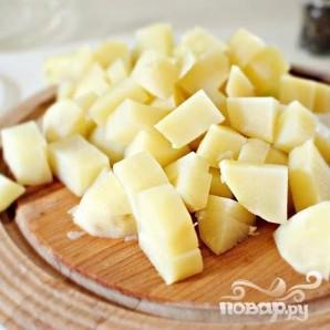 Картофель с беконом - фото шаг 2