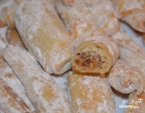 Ореховые трубочки - фото шаг 9