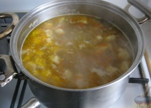 Суп из говядины с клецками - фото шаг 9