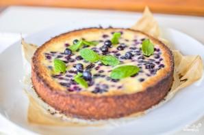 Черничный торт со сметаной - фото шаг 5
