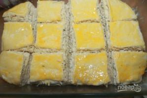 Закусочный сырный пирог - фото шаг 11
