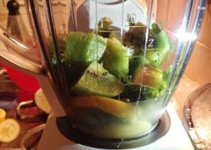 Жиросжигающий зеленый коктейль - фото шаг 3