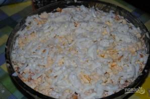 Вкусный салат с грибами - фото шаг 8
