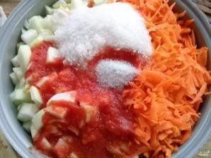 Кабачковая икра с морковкой на зиму - фото шаг 3