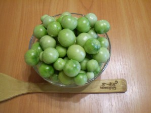 Закатка зеленых помидоров на зиму - фото шаг 2