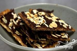 Шоколадно-карамельные крекеры - фото шаг 5