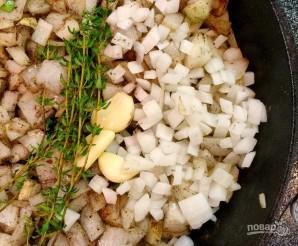 Тушеные ребрышки с картошкой в мультиварке - фото шаг 3