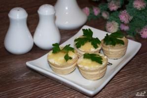 Тарталетки с икрой и сливочным сыром  - фото шаг 6