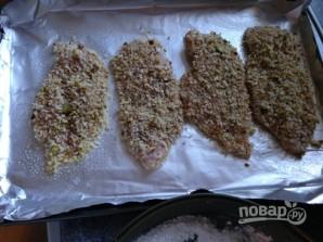 Сэндвичи с фасолевым пюре и куриным мясом - фото шаг 3