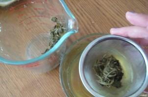 Рис с зеленым чаем - фото шаг 1