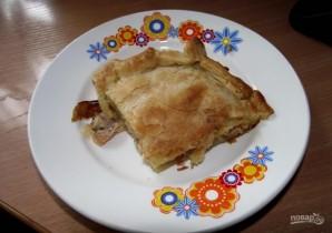 Простой пирог из семги - фото шаг 6