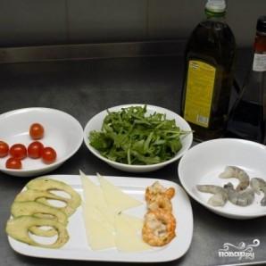 """Салат с креветками """"Вкусный"""" - фото шаг 1"""