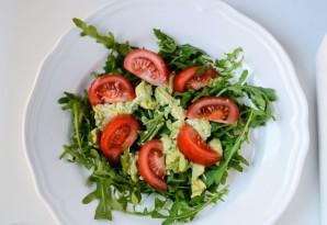 Салат с рукколой и семгой - фото шаг 2
