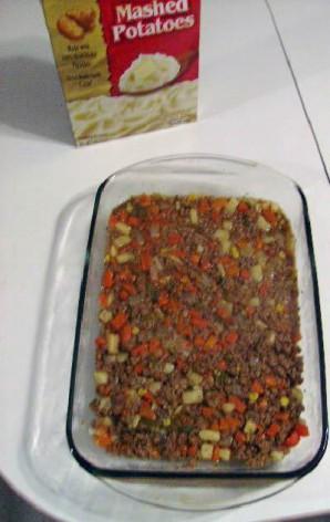 Картофельная запеканка с мясом - фото шаг 2