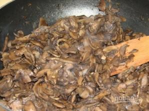 Салат из жареных шампиньонов - фото шаг 4