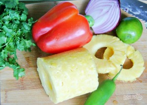 Салат с тунцом и ананасом - фото шаг 1