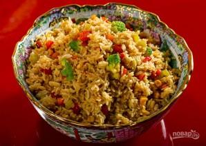 Рис с овощами по-китайски - фото шаг 5