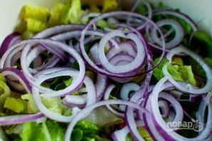 Салат из говядины с гранатом - фото шаг 4
