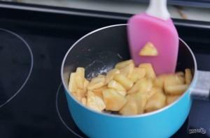 Яблочный чизкейк в баночках - фото шаг 1