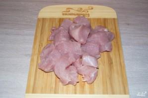 Филе индейки с картошкой в рукаве - фото шаг 1