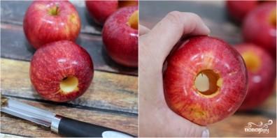 Запеченные яблоки в карамели - фото шаг 2